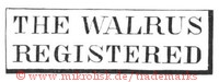 The Walrus Registered (im Rechteck)