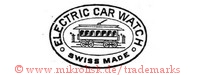 Electric Car Watch / Swiss Made (mit Eisenbahnwaggon im Oval)
