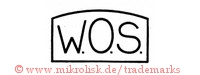 W.O.S. (in Rechteck/Form)