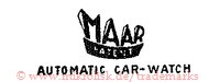 Maar / Patent / Automatic Car-Watch (mit Banner)