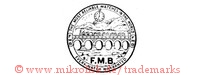 The Most Reliable Watches In The World / FMB / Every Watch Warranted (im kreis mit Uhr, Zugbrücke, Eisenbahn)