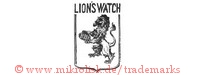 Lion's Watch / EBF (mit Löwe im Schild)