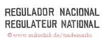 Regulador Nacional / Regulateur National