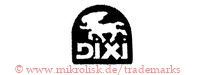 Dixi (in Brotform mit Pferd? Löwe? Tier)