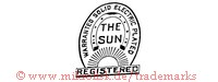 Warranted Solid Electic Plated / The Sun / Registered (mit Hufeisen und Sonne)