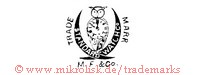Trade Mark / Standard Watch Co. / M.F. & Co (mit Eule und Uhr)
