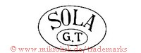 Sola / G.T (im Oval)