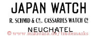 Japan Watch / R. Schmid & Cie. Cassardes Watch Co. / Neuchatel