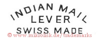 Indian Mail / Lever / Swiss Made