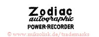 Zodiac Autographic Power-Recorder